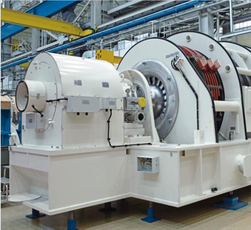 155 MWe SIEMENS V94.2 Unused Gas turbine SIEMENS SGen5-100A Turbogenerator [x1] 2008Y 6300V 50HZ 3000RPM